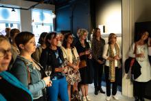 Opening tentoonstelling De Rode draad door de Ezelstraat