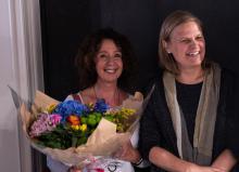 Opening tentoonstelling De Rode draad door de Ezelstraat - Sandra Willems - Dir. M. Verhelst
