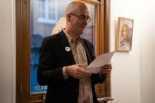 Hoek-huis tentoonstelling Brugge - expo Proud Art-teachers of TIHF