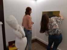 buren bij kunstenaars