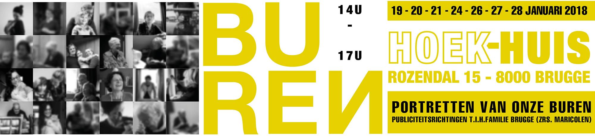 Tentoonstelling BUREN - Kunstafdeling maricolen Brugge - TIHFamilie